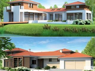 Mediterrane Häuser von Pracownia Projektowa ARCHIPELAG Mediterran
