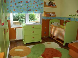 STİLART MOBİLYA DEKORASYON İMALAT.İNŞAAT TAAH. SAN.VE TİC.LTD.ŞTİ. Dormitorios infantiles de estilo moderno