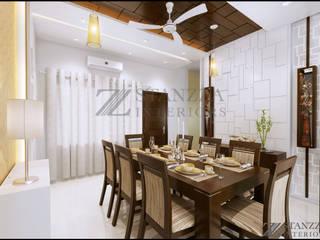 Comedores de estilo moderno de stanzza Moderno