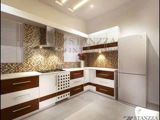 Cocinas de estilo moderno de stanzza Moderno