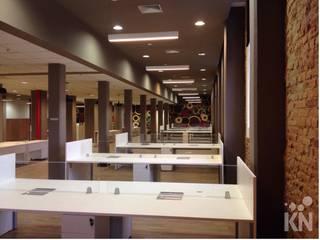 Escritório: Escritórios  por KN Arquitetura
