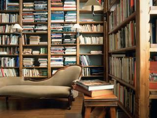Baden Baden Ruang Studi/Kantor Klasik Kayu