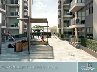 Boulevard 41: Casas de estilo  por Oleb Arquitectura & Interiorismo