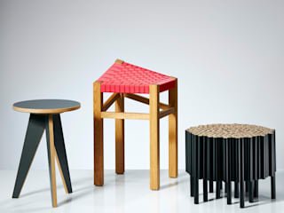 Hocker IDA + PAUL: modern  von DOMANI INTERIOR. Möbel. Art. aus Freiburg,Modern