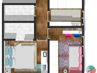 Apartamento Panamby:   por Bel e Tef Atelier da Reforma