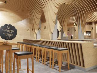 Vítor Leal Barros Architecture Gastronomia in stile moderno