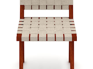 diesco Living roomStools & chairs Textile White
