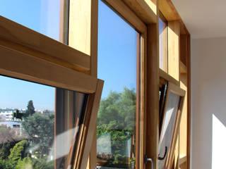 Extension Contemporaine à Meudon Fenêtres & Portes modernes par Olivier Stadler Architecte Moderne Bois Effet bois