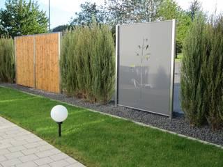 Modern Bahçe Edelstahl Atelier Crouse: Modern