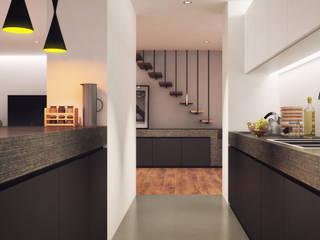 Vítor Leal Barros Architecture Modern style kitchen