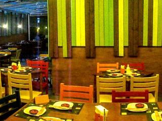 Pátio Delícia: Bares e clubes  por Marisol Réquia Arquitetura,