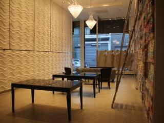 PROJETO COMERCIAL : Lojas e imóveis comerciais  por ANA PAULA MONTEIRO ARQUITETURA &,Moderno