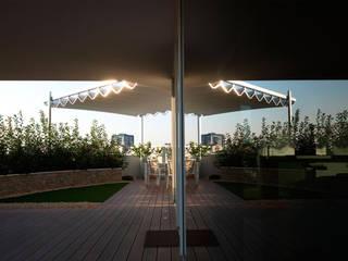Balcones y terrazas de estilo moderno de STEFANIA ARREDA Moderno