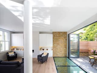 Brackenbury House Neil Dusheiko Architects ห้องนั่งเล่น