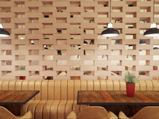 Vítor Leal Barros Architecture Bar & Club in stile eclettico