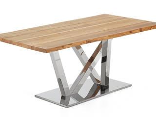Mesas de refeições com design Dining tables with design www.intense-mobiliario.com  Evu http://intense-mobiliario.com/product.php?id_product=8833:   por Intense mobiliário e interiores;