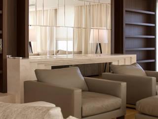 Apartament 250 m kw Nowoczesny salon od Katarzyna Kraszewska Architektura Wnętrz Nowoczesny