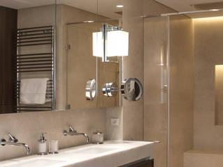 Apartament 250 m kw Nowoczesna łazienka od Katarzyna Kraszewska Architektura Wnętrz Nowoczesny
