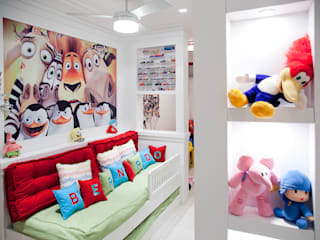 Ana Levy | Arquitetura + Interiores Modern Kid's Room Multicolored