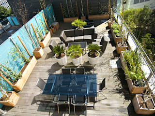 London Roof Terrace:  Garden by Arthur Road Landscapes