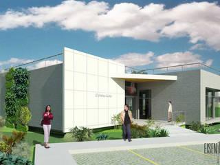 Oficinas Experience Center Venezuela- Smurfit Kappa, Vanezuela Casas de estilo minimalista de Eisen Arquitecto Minimalista