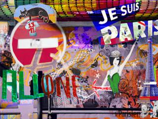 JE SUIS PARIS / 13.11. 2015 :   von FOTOwerk,