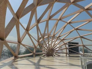 3D modellazione Revit_2015 Padiglione Malaysia_ EXPO Milano 2015:  in stile  di Studio di Architettura