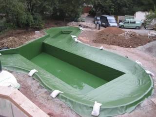 Folienverlegungen - Folienauskleidungen - Abdichtungen Moderner Garten von Natur & Heim GmbH Modern