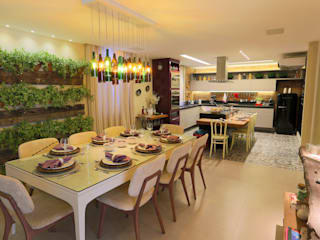 Modern dining room by Lorrayne Zucolotto Arquitetura Modern