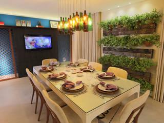 Comedores de estilo moderno de Lorrayne Zucolotto Arquitetura Moderno