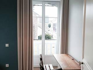 Extension et rénovation complète d'une maison à Rennes:  de style  par wunder architectes