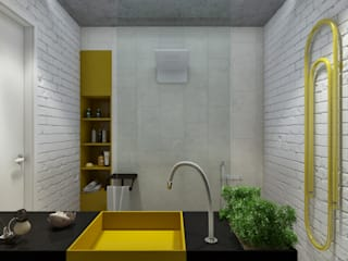 Scandinavian style bathroom by Mebius Group Scandinavian