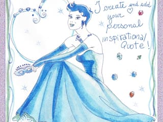 Magic Inspirational Watercolour:  in stile  di roberta mazzoni illustratrice