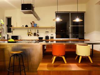 HOUSE S モダンな キッチン の アーキライン一級建築士事務所 モダン