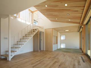 ちはら台の家 モダンデザインの リビング の アトリエ24一級建築士事務所 モダン