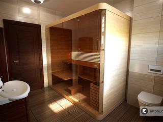 Baños de estilo moderno de Kitole Moderno