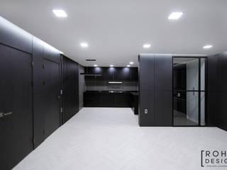 Salas de estar  por 로하디자인, Moderno