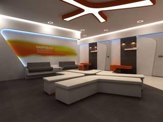 VERO CONCEPT MİMARLIK – İzmir Özel Park Tıp Merkezi:  tarz Hastaneler