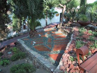 Mediterranean style garden by ruiz narvaiza associats sl Mediterranean