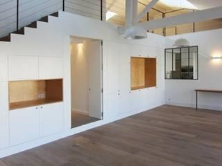 Création d'un duplex et réhabilitation complète de l'appartement par BAG ARCHITECTES