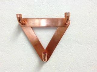 Wandhaken WALLCOPPER Copper Elements Berlin Flur, Diele & TreppenhausKleiderständer und Garderoben Kupfer/Bronze/Messing
