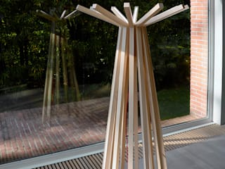 LAMP LED mod. TEEPEE Frigerio Paolo & C. SalonEclairage Bois Transparent