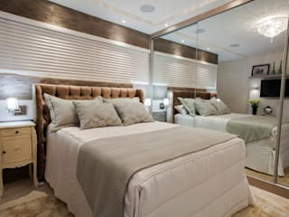 Estúdio HL - Arquitetura e Interiores Modern style bedroom