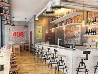 VN Studio – Cafe 408: modern tarz , Modern