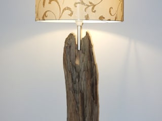 Meister Lampe Living roomLighting Wood Amber/Gold