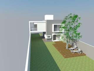 Modern Houses by J Y J proyectos de Arquitectura Modern