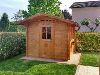 Casetta in legno da giardino La Pratolina...design e qualità unica nel suo genere! di La Pratolina Classico