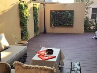 子供達とママの集まるスペース: 株式会社KIMURA  bi-Artが手掛けた庭です。