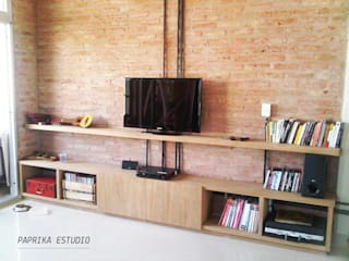MESAS Y MUEBLES DE TV Paprika Estudio Living roomTV stands & cabinets