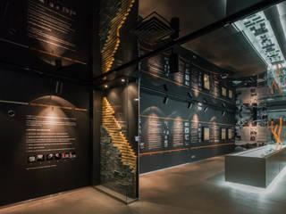 Museu do Sabão em Belver (Alentejo) Museos de estilo moderno de MIGUEL VISEU COELHO ARQUITECTOS ASSOCIADOS LDA Moderno